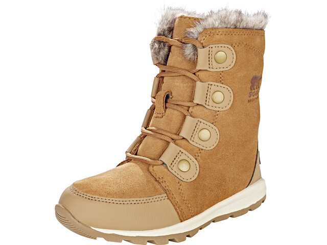 Sorel Kids Whitney Suede Boots Elk/Natural